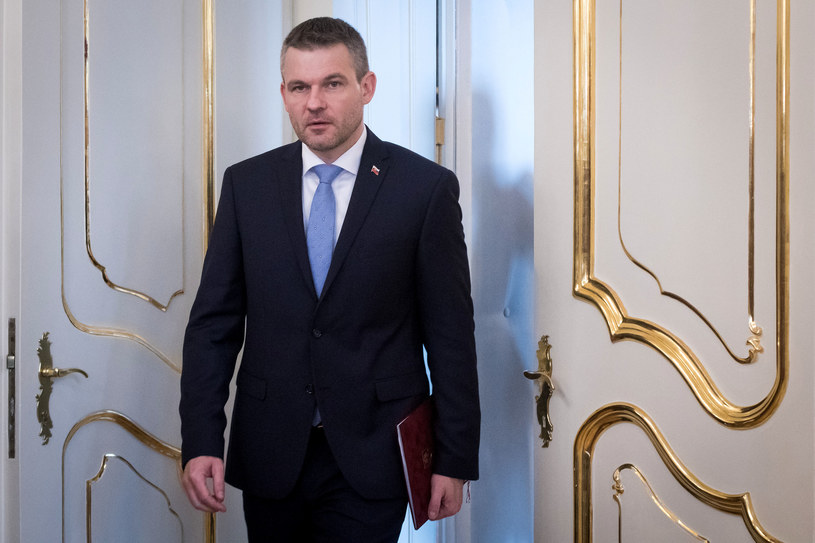 Desygnowany na premiera Peter Pellegrini /VLADIMIR SIMICEK  /AFP