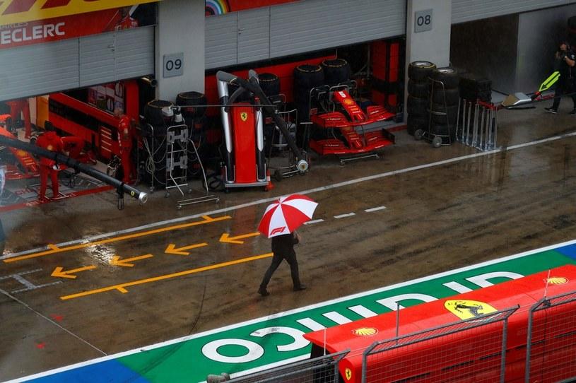 Deszcz uniemożliwił rywalizację /AFP