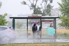 Deszczowe popołudnie w Gdańsku