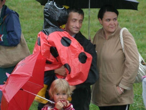 Deszczowy lipiec nie odstraszył turystów /RMF