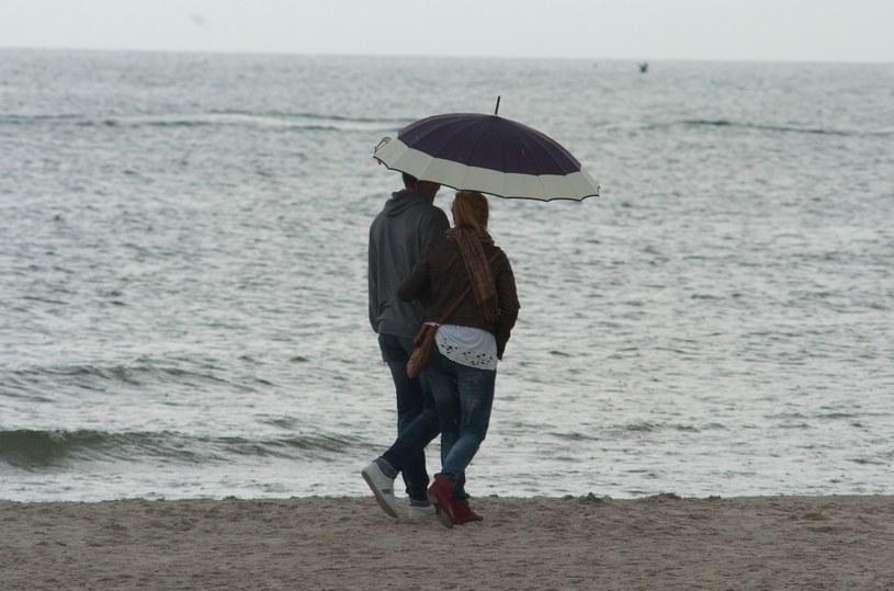 Deszczowy urlop w Polsce /Hubert Bierndgarski /Reporter