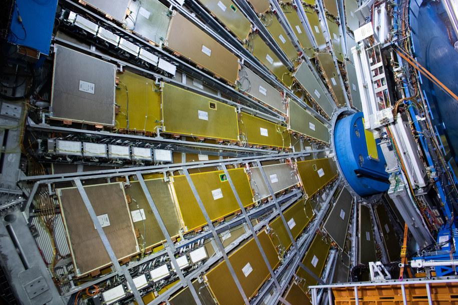 Detektor ATLAS /CERN /Materiały prasowe