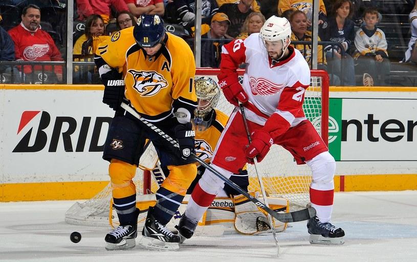 Detroid Red Wings i Nashville Predators /AFP