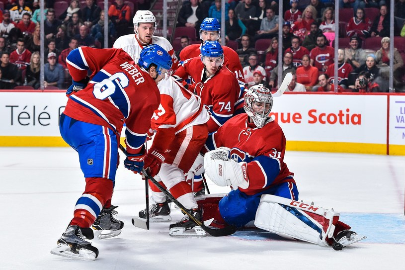 Detroit Red Wings - Montreal Canadiens /AFP