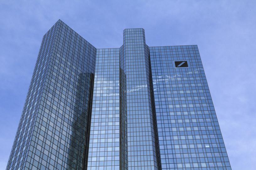 Deutsche Bank, centrala we Frankfurcie nad Menem /123RF/PICSEL