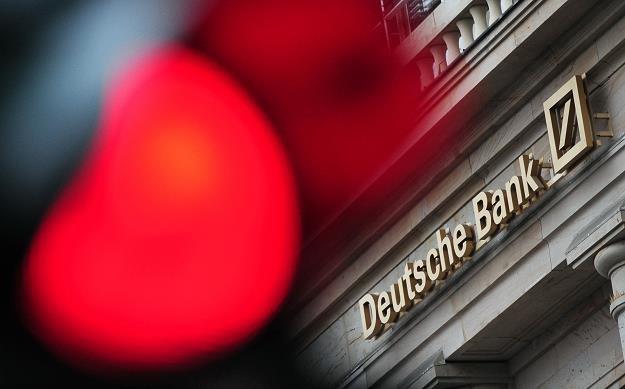 Deutsche Bank zapłaci 14 mld dol. odszkodowania? Fot. DANIEL REINHARDT / DPA / AFP /AFP
