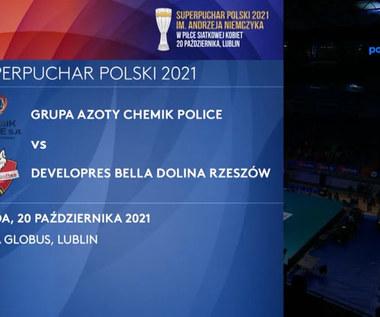 Developres Bella Dolina Rzeszów - Grupa Azoty Chemik Police 3:2. Skrót meczu. WIDEO (Polsat Sport)