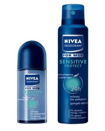 Dezodoranty NIVEA Deo Sensitive Protect /materiały prasowe