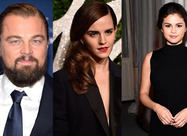 Di Caprio, Watson i Gomez nie mają szczęścia w miłości /Getty Images