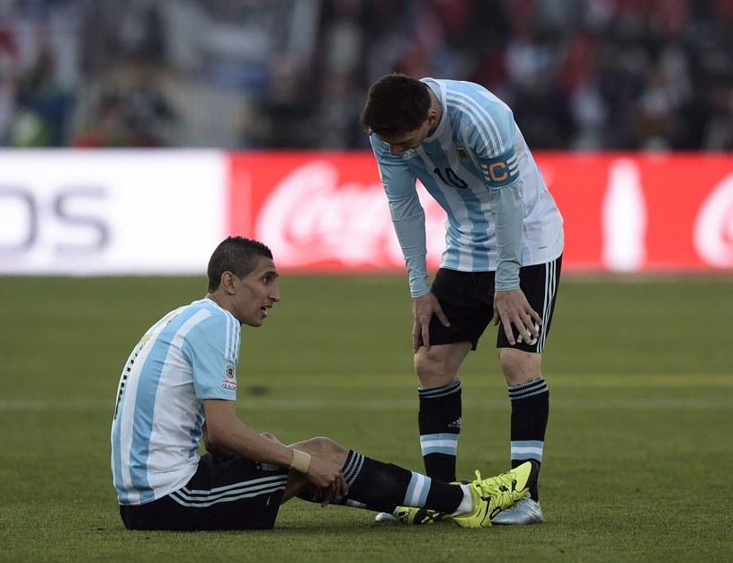 Di Maria podczas finałowego meczu Copa America /AFP