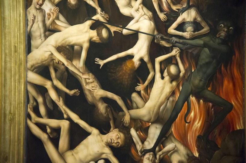 Diabeł jest częstym motywem w sztuce; Na zdjęciu fragment tryptyku Sąd Ostateczny Hansa Memlinga /Wojciech Stróżyk /Reporter