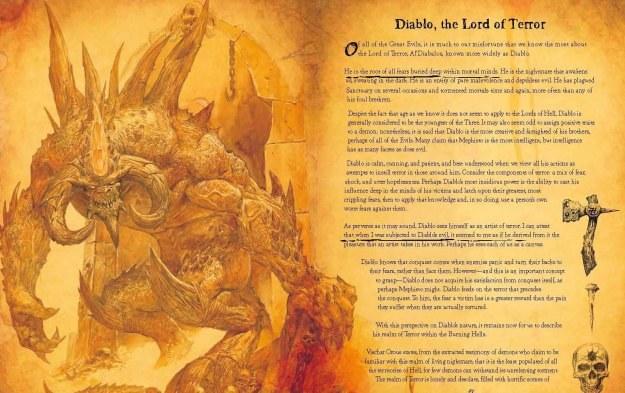 Diablo Book of Cain - fragment artbooka /Informacja prasowa