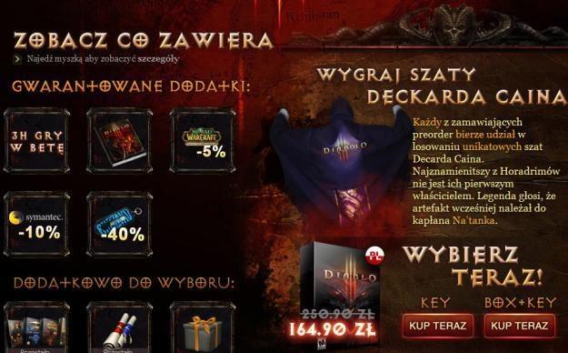 Diablo III w kapłańskim zestawie /Informacja prasowa