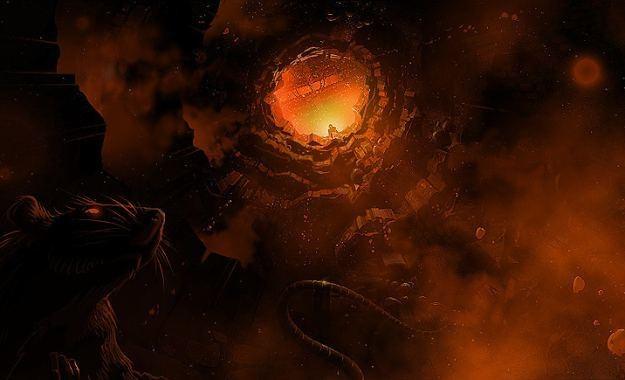 Diablo w kosmosie - wyobrażacie to sobie? /Informacja prasowa