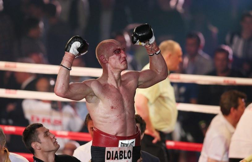 """""""Diablo"""" Włodarczyk po spektakularnym zwycięstwie w Moskwie /PAP/EPA"""