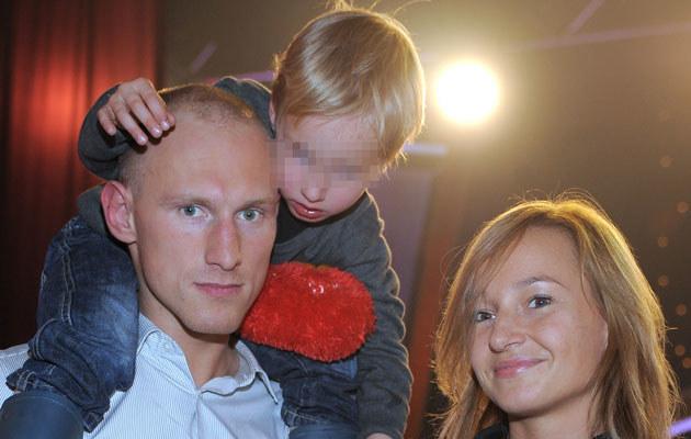 Diablo z żoną i synem, fot. Andras Szilagyi  /MWMedia