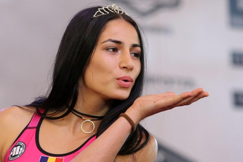 Diana Belbita (na zdjęciu) przegrała z Ariane Lipski na gali KSW na PGE Narodowym /Fot. Tomasz Jastrzębowski /East News