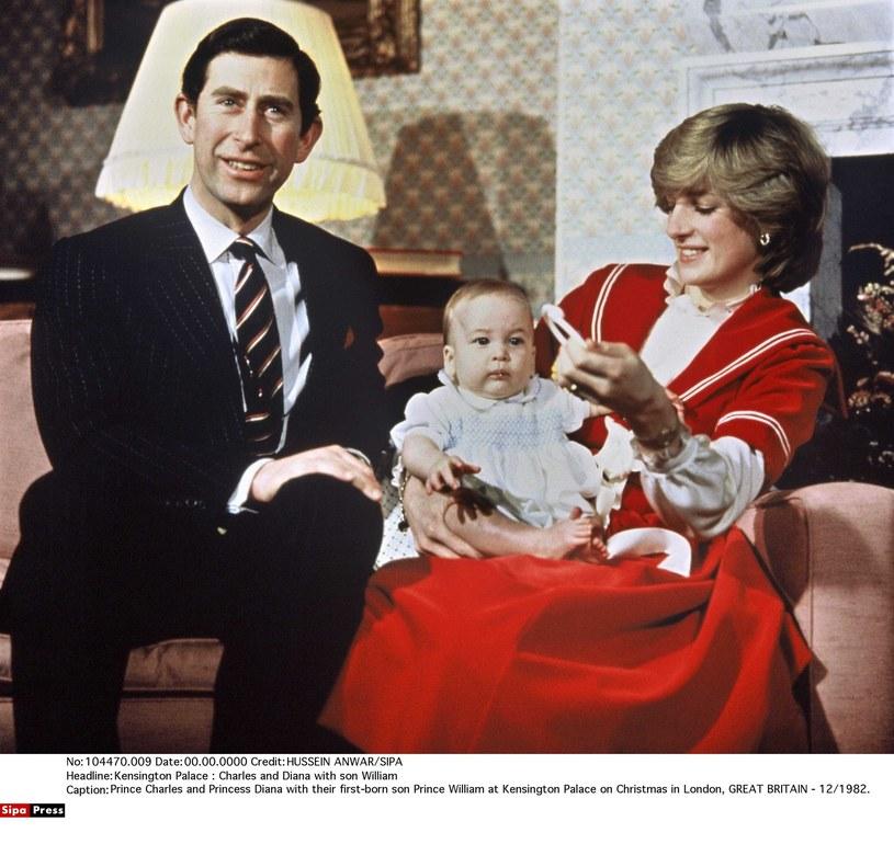 Diana z księciem Karolem i Williamem /- /East News