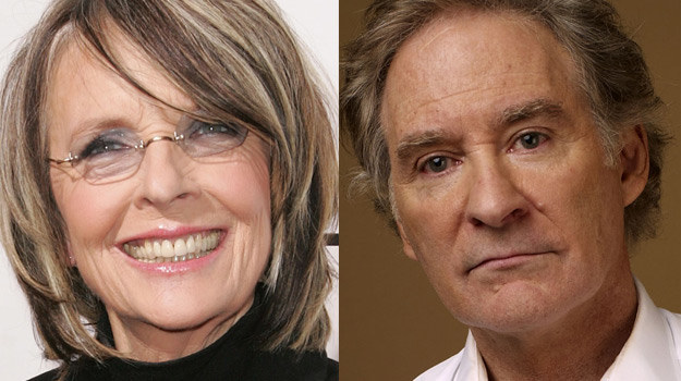 Diane Keaton i Kevin Kline zagrają główne role w nowym filmie Lawrence`a Kasdana /Getty Images/Flash Press Media