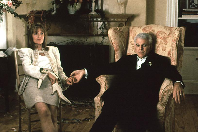 "Diane Keaton i Steve Martin w ""Ojcu panny młodej"" /AKPA"