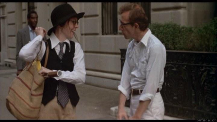 """Diane Keaton i Woody Allen w filmie """"Annie Hall"""" /materiały prasowe"""