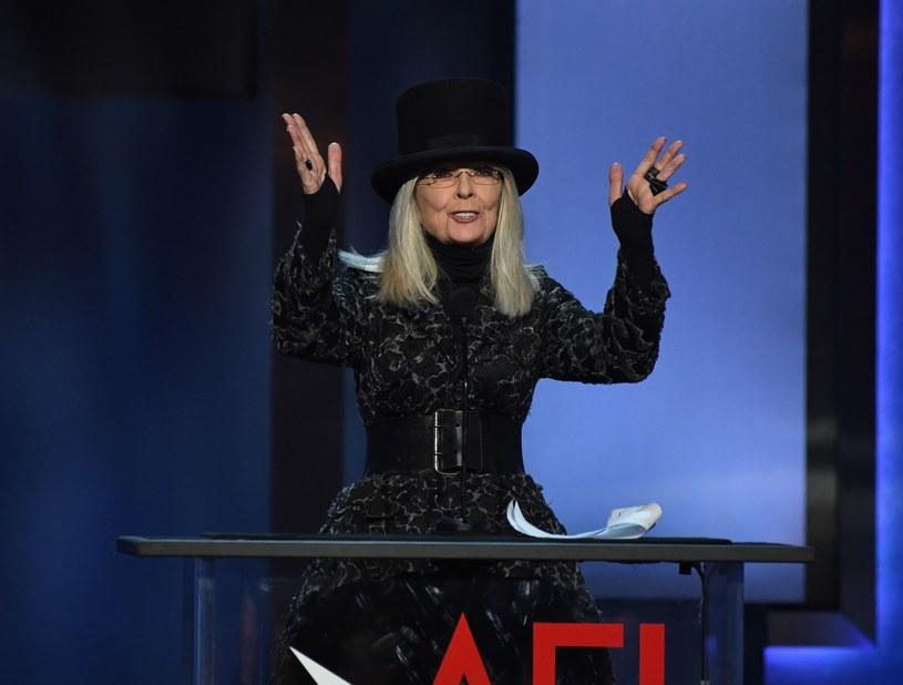 Diane Keaton pokochała modę! /Valerie MACON / AFP /East News