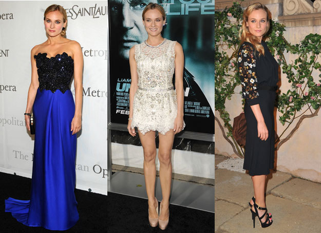 Diane Kruger jest ulubienicą stylistów /Getty Images/Flash Press Media
