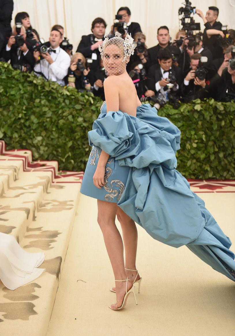 Diane Kruger podczas MET Gali /Jason Kempin /Getty Images