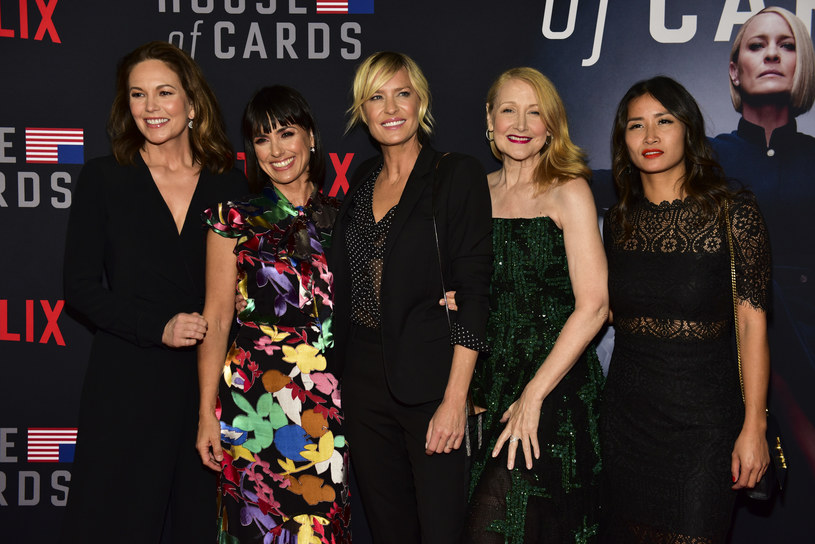 Diane Lane, Constance Zimmer, Robin Wright, Patricia Clarkson, Nini Le Huynh /Rodin Eckenroth /Getty Images