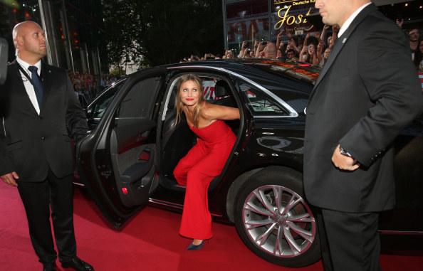 """Diaz po raz ostatni pojawiła się na srebrnym ekranie w filmie """"Annie"""", który miał premierę w 2014 roku /Getty Images"""