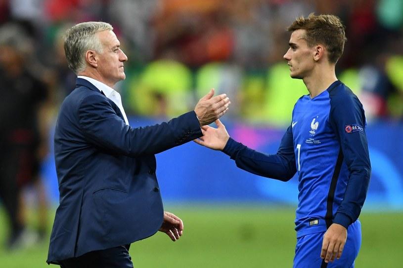 Didier Deschampa i Antoine Griezmann /AFP