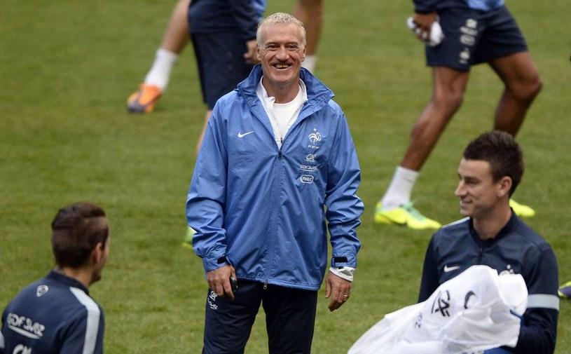 Didier Deschamps może się teraz szeroko uśmiechać /AFP