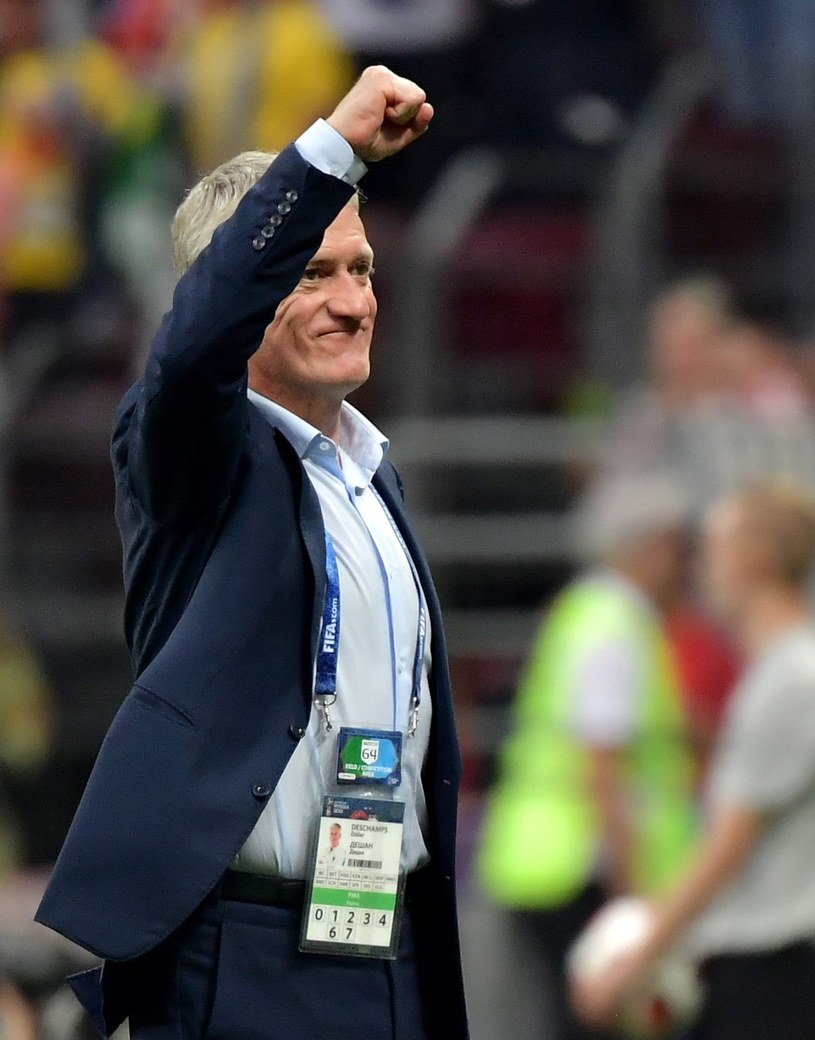 Didier Deschamps, trener reprezentacji Francji /PAP/EPA