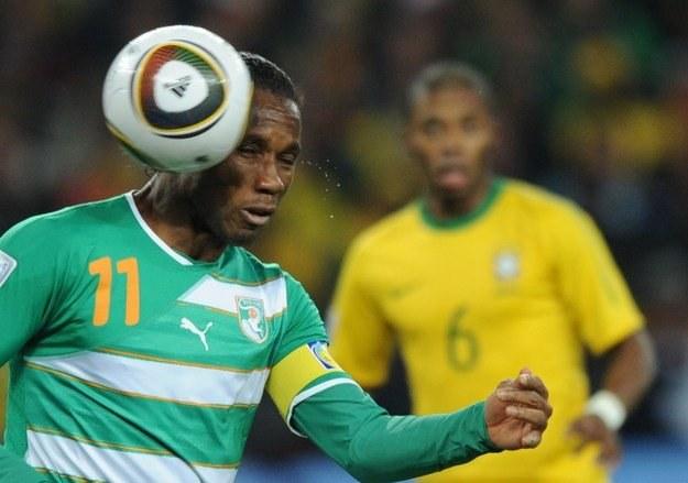 Didier Drogba, gwiazda Chelsea i reprezentacji Wybrzeża Kości Słoniowej /AFP