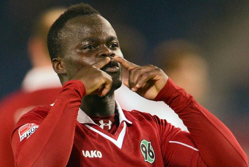 Didier Ya Konan strzelił dwa gole w meczu z 1. FC Nuernberg /AFP