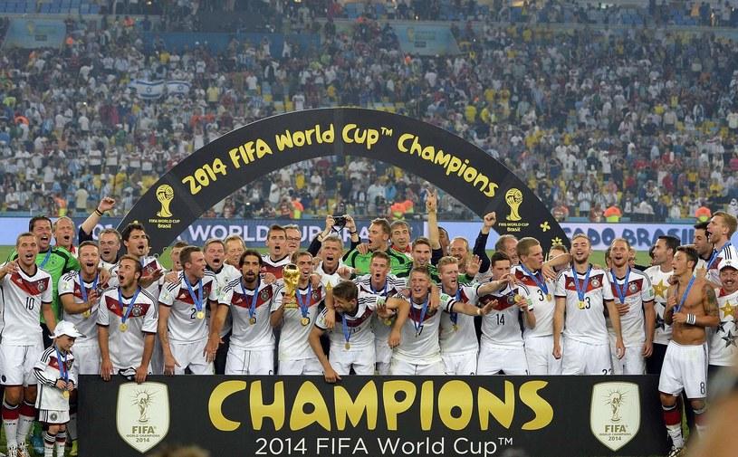 """""""Die Mannschaft"""" obronią tytuł zdobyty w Brazylii? /AFP"""