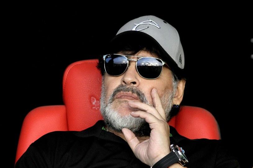 Diego Armando Maradona wciąż liczy, że poprowadzi klub z czołówki /AFP ULISES RUIZ /AFP