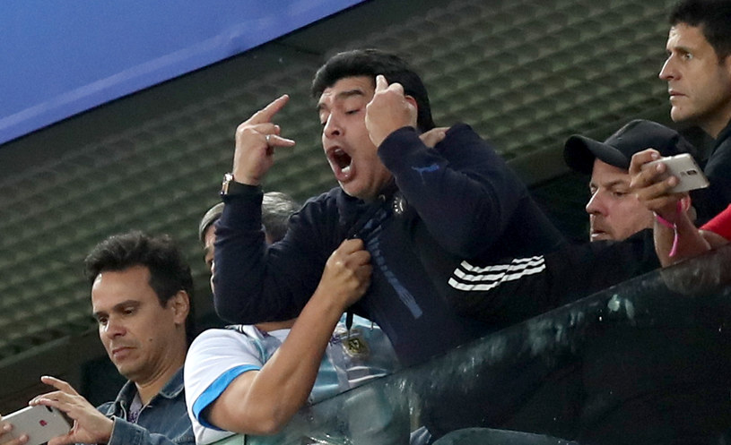 Diego Armando Maradona /Alex Morton /Getty Images