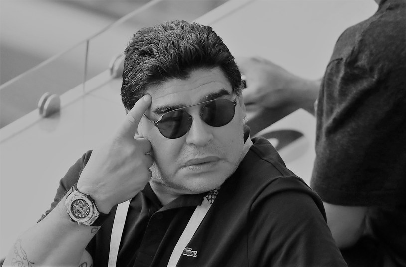 Diego Armando Maradona /Catherine Ivill /Getty Images