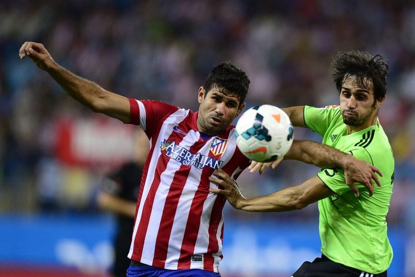 Diego Costa, gwiazda Atletico Madryt /AFP
