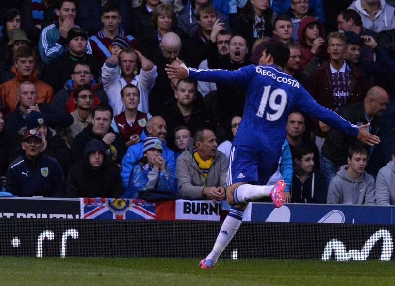 Diego Costa już strzela dla Chelsea Londyn /AFP