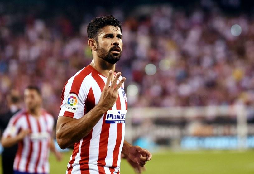 """Diego Costa niemal w pojedynkę rozstrzelał """"Królewskich"""" /AFP"""