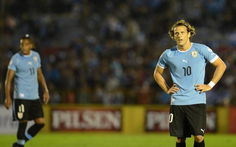 Diego Forlan zagra przeciwko Polakom. /AFP