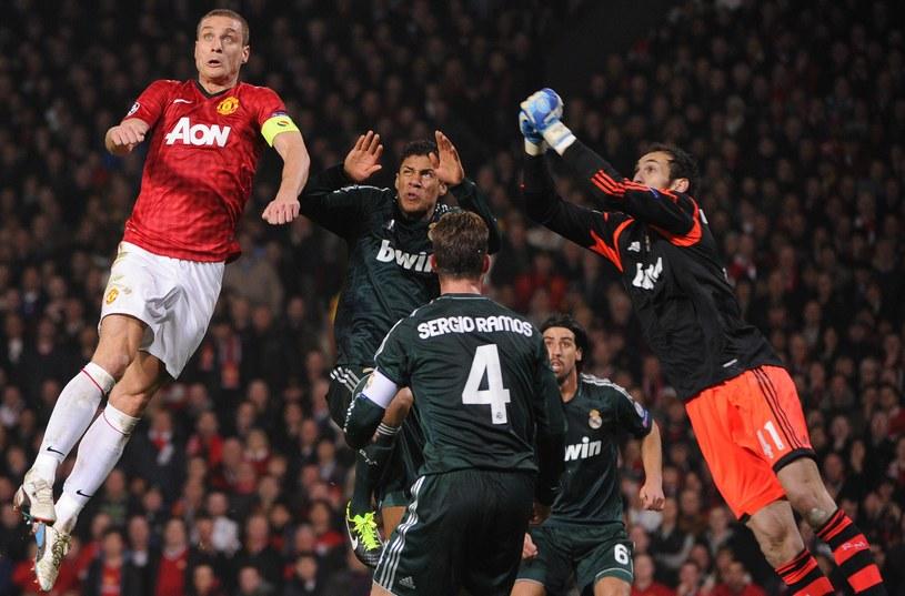 Diego Lopez bardzo dobrze bronił w meczu z Manchesterem United /AFP