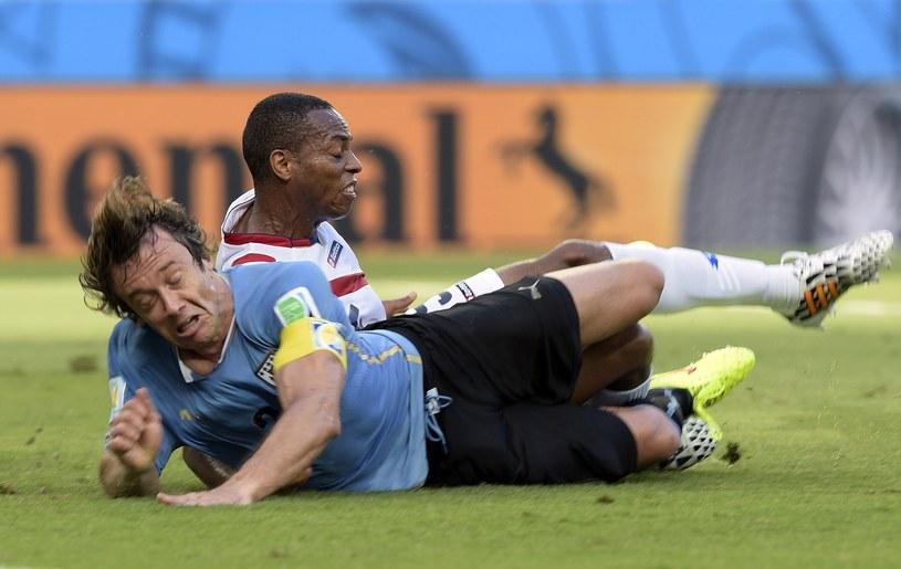 Diego Lugano, kapitan reprezentacji Urugwaju /AFP