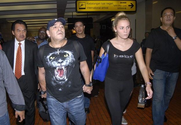 Diego Maradona ma kłopoty /AFP