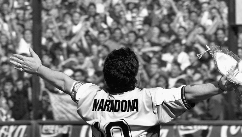 Diego Maradona nie żyje - boski alfabet