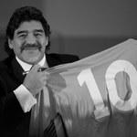 """Diego Maradona nie żyje. Świat piłki reaguje na śmierć """"Boskiego Diego"""". Lineker, Borek, Romario, Cristiano Ronaldo"""