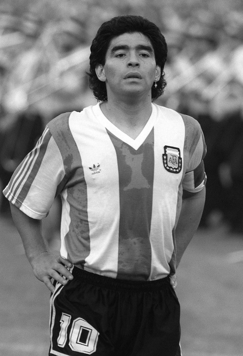 Diego Maradona nie żyje /AFP