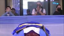 """Diego Maradona pochowany w """"Ogrodzie Pokoju"""" (POLSAT SPORT). Wideo"""